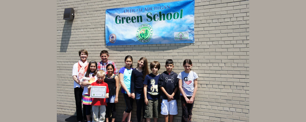 Dearborn Heights Montessori Center is an Official Michigan Green School