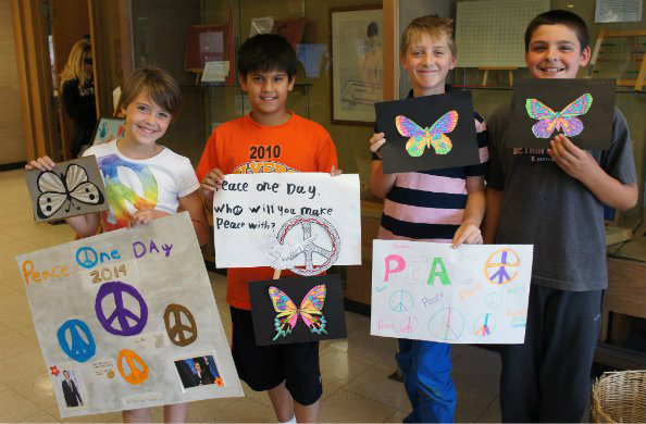 Montessori Students Hold 6th Annual Peace Day Celebration