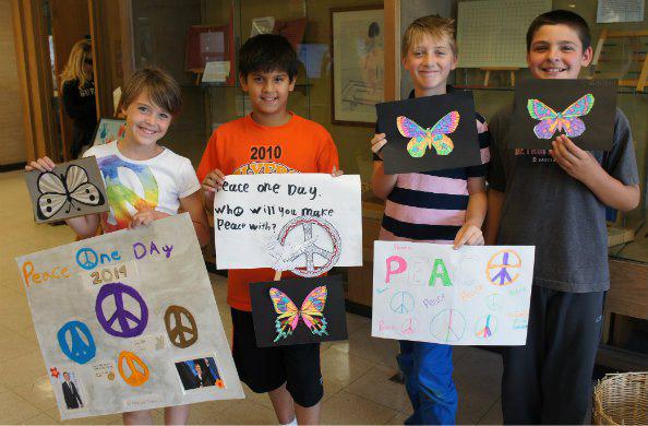 Montessori Students Hold 6th Annual Peace Day Celebration